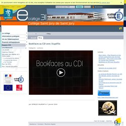 Saint Jory de Saint Jory - Bookfaces au CDI avec Stupéflix