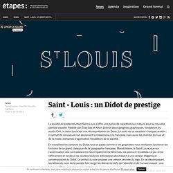 Saint - Louis : un Didot de prestige