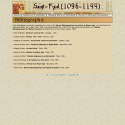 SAINT-PIXEL - BIBLIOGRAPHIE