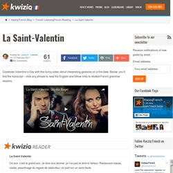 La Saint-Valentin - Kwiziq French Blog