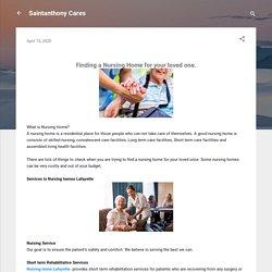 Saintanthony Cares