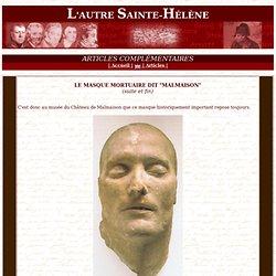"""Masque mortuaire dit """"de Malmaison"""""""