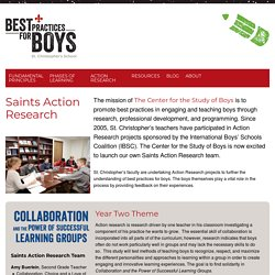 The Center for the Study of BoysThe Center for the Study of Boys