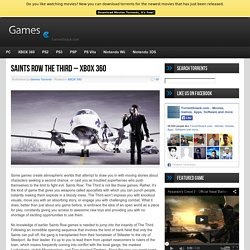 Saints Row The Third - XBOX 360