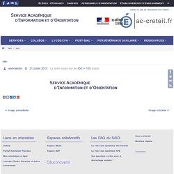 Service Académique d'Information et d'Orientation
