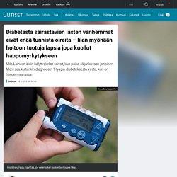 Diabetesta sairastavien lasten vanhemmat eivät enää tunnista oireita – liian myöhään hoitoon tuotuja lapsia jopa kuollut happomyrkytykseen