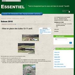 lasagne) Saison 2010 - Essentiel