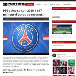 PSG : Une saison 2020 à 617 millions d'euros de revenus ?