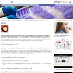 Grippe saisonnière, Sanofi Pasteur, conception et fabrication de vaccins, information vaccination