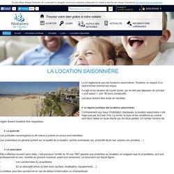La location saisonnière / Louer / Immobilier / Informations juridiques / Commun / Accueil - Notaire de l'ouest