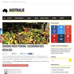 Saisons Fruit Picking - Calendrier des récoltes