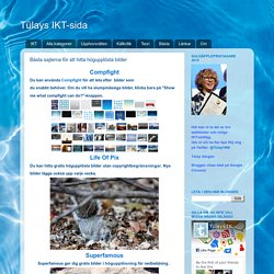 Bästa sajterna för att hitta högupplösta bilder