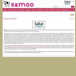 Sakai en español
