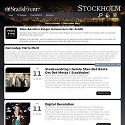 Saker att göra i Stockholm idag. Här listar vi allt som händer i Stockholm idag!
