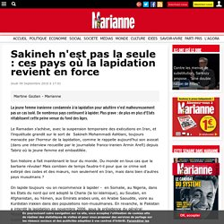 Sakineh n'est pas la seule : ces pays où la lapidation revient en force