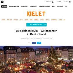 Saksalainen joulu – Weihnachten in Deutschland