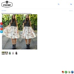 Sakura Midi Skirt – Rebel Style Shop