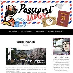 SAKURA ET PARAPLUIES - Passeport Japon