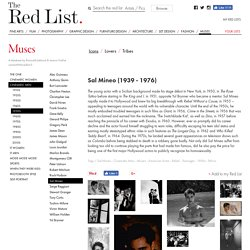 Sal Mineo: Muses, Cinematic Men