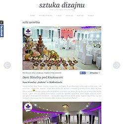 sala weselna - sztuka dizajnu