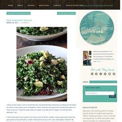 Salade de kale au quinoa et à l'avocat - Mountain Mama Cooks