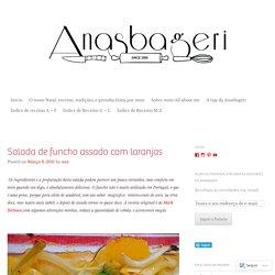 Salada de funcho assado com laranjas