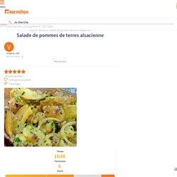 Salade de pommes de terres alsacienne : Recette de Salade de pommes de terres alsacienne