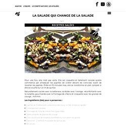 La salade qui change de la salade ~ betterave, orange, quinoa – LA MINUTE PAPILLON