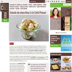 Salade de chou-fleur à la Café Pinson
