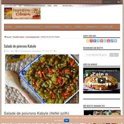 Salade de poivrons Kabyle