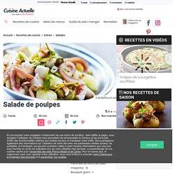 Salade de poulpes facile