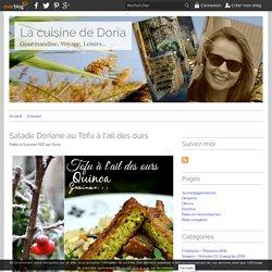 Salade Doriane au Tofu à l'ail des ours