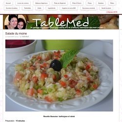 Salade du moine - TableMed