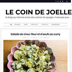 Salade de chou-fleur et d'oeufs au curry