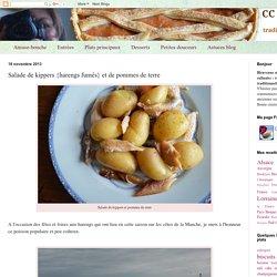 Salade de kippers {harengs fumés} et de pommes de terre