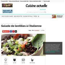 Salade de lentilles à l'italienne, facile et pas cher
