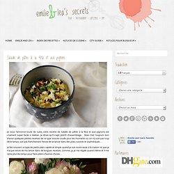 Salade de pâtes à la feta et aux pignons - Emilie and Lea's Secrets