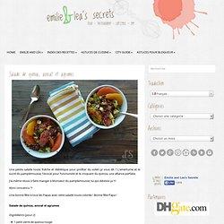 Salade de quinoa, avocat et agrumes «