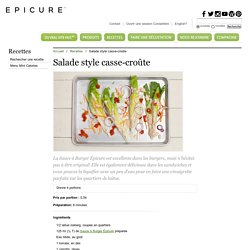 Salade style casse-croûte