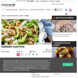 Salade sucrine facile : découvrez les recettes de Cuisine Actuelle