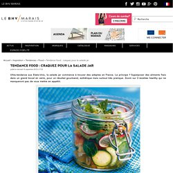 Salade Jar : la tendance food du moment