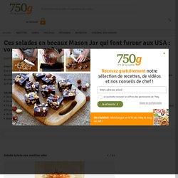 Ces salades en bocaux Mason Jar qui font fureur aux USA : vous connaissez ? - 9 photos