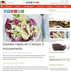 Salades-repas en 2 temps 3 mouvements
