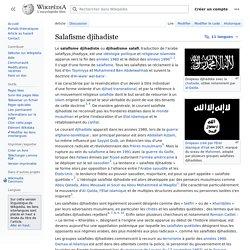 Salafisme djihadiste