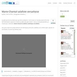 Marie-Chantal salafiste versaillaise
