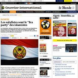 """Les salafistes sont le """"Tea party"""" des islamistes"""