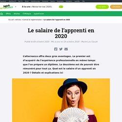 Quel salaire pour un apprenti en 2020 ? (contrat pro ou apprentissage)