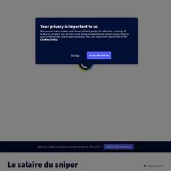 Un escape game autour de la nouvelle de Didier Daeninckx, le Salaire du sniper, par Mme Gambier