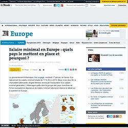 Salaire minimal en Europe: quels pays le mettent en place et pourquoi?
