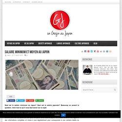 Salaire Minimum Et Moyen Au Japon